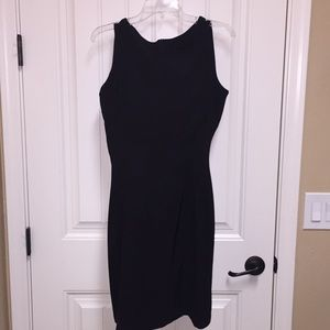 Classic black shift dress from Macy's.